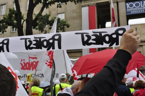 26 protest 15IX 2018 Warszawa