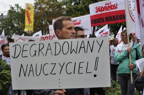 39 protest 15IX 2018 Warszawa