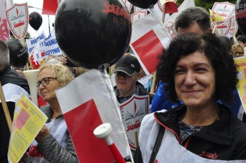 68 protest 15IX 2018 Warszawa