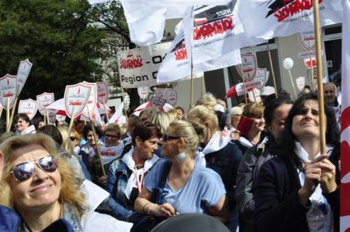 86 protest 15IX 2018 Warszawa