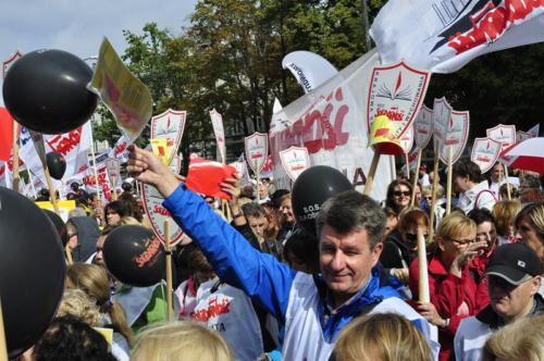87 protest 15IX 2018 Warszawa