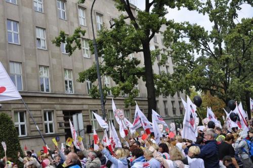 88 protest 15IX 2018 Warszawa