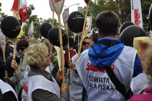 90 protest 15IX 2018 Warszawa