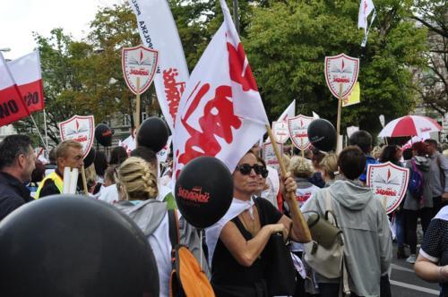 92 protest 15IX 2018 Warszawa